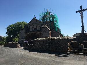 Eglise St Rémy - 1ère tranche des travaux